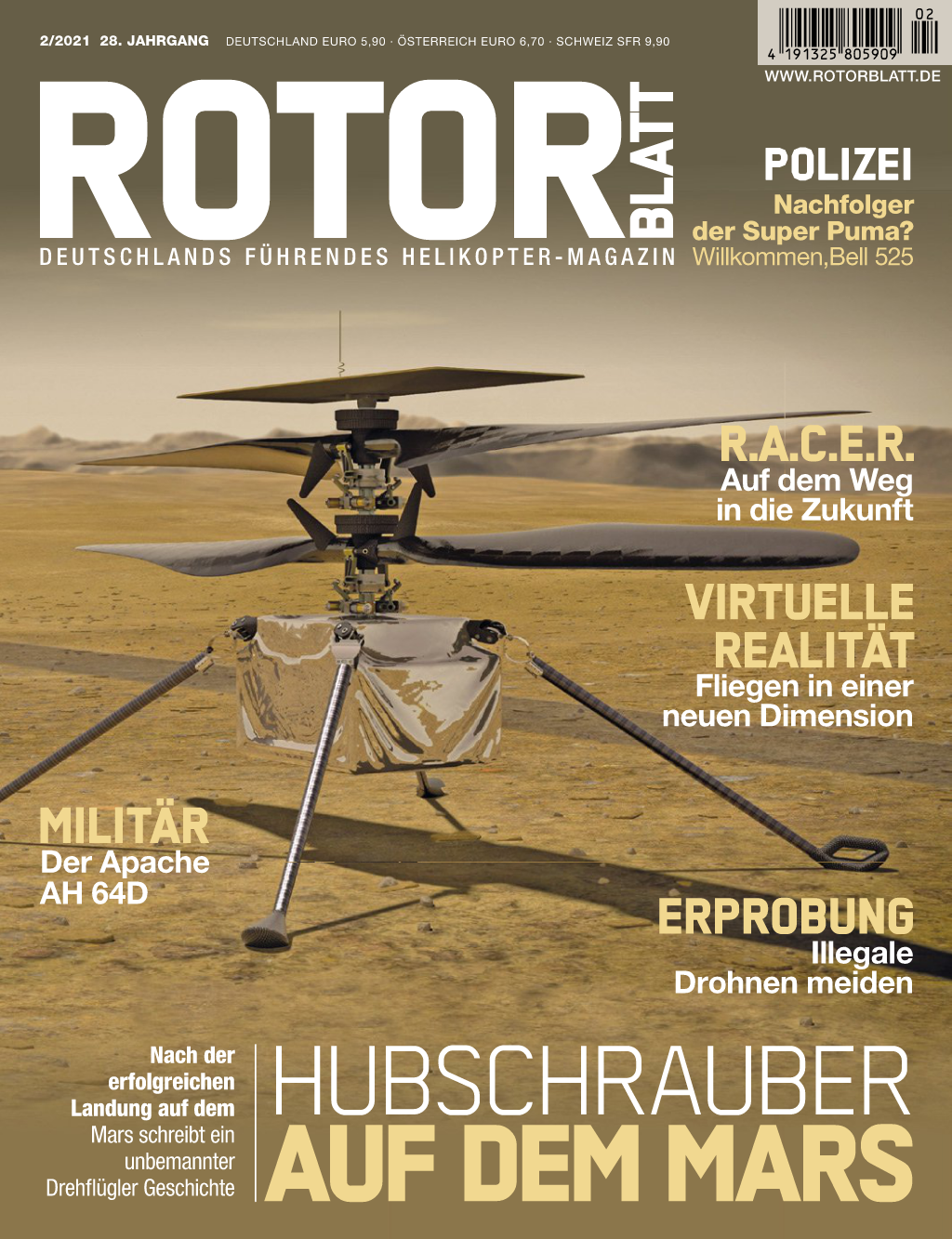 Rotorblatt Ausgabe 02-2021