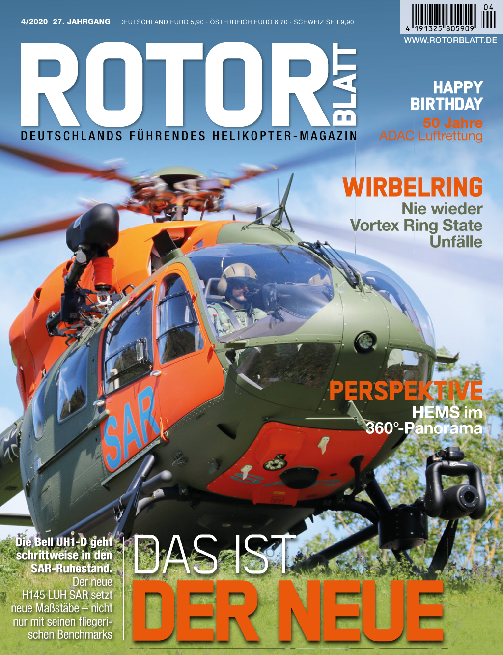 Rotorblatt Ausgabe 04-2020