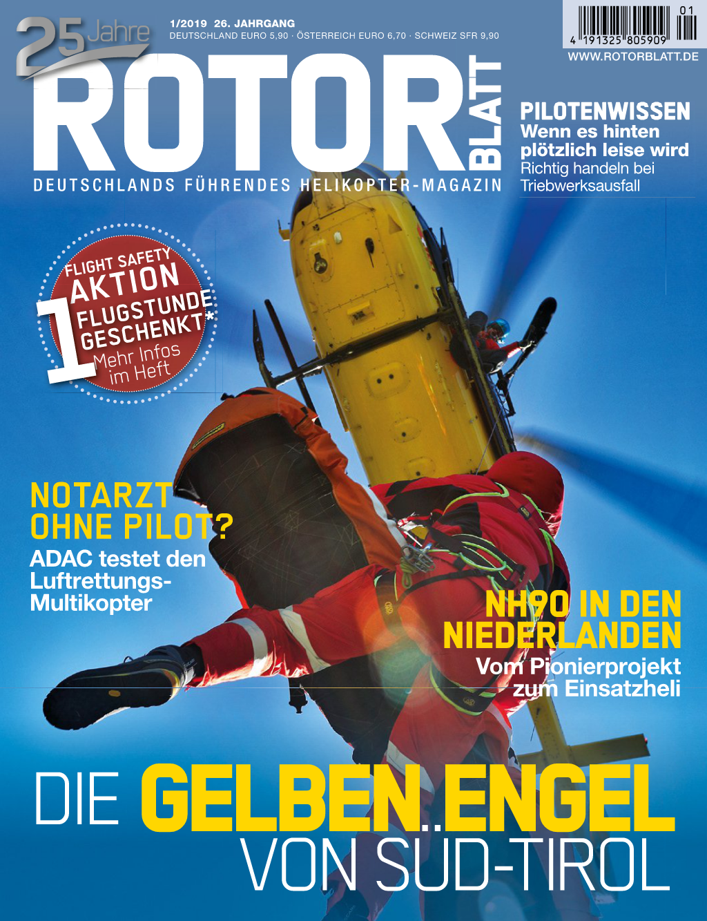 Rotorblatt Ausgabe 01-2019