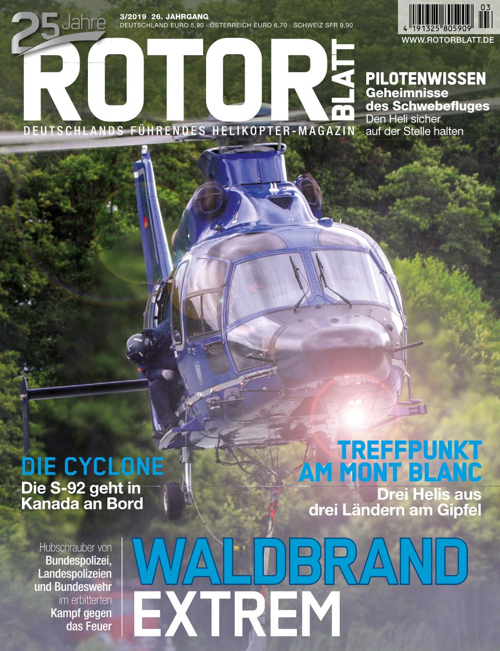 Rotorblatt Ausgabe 03-2019