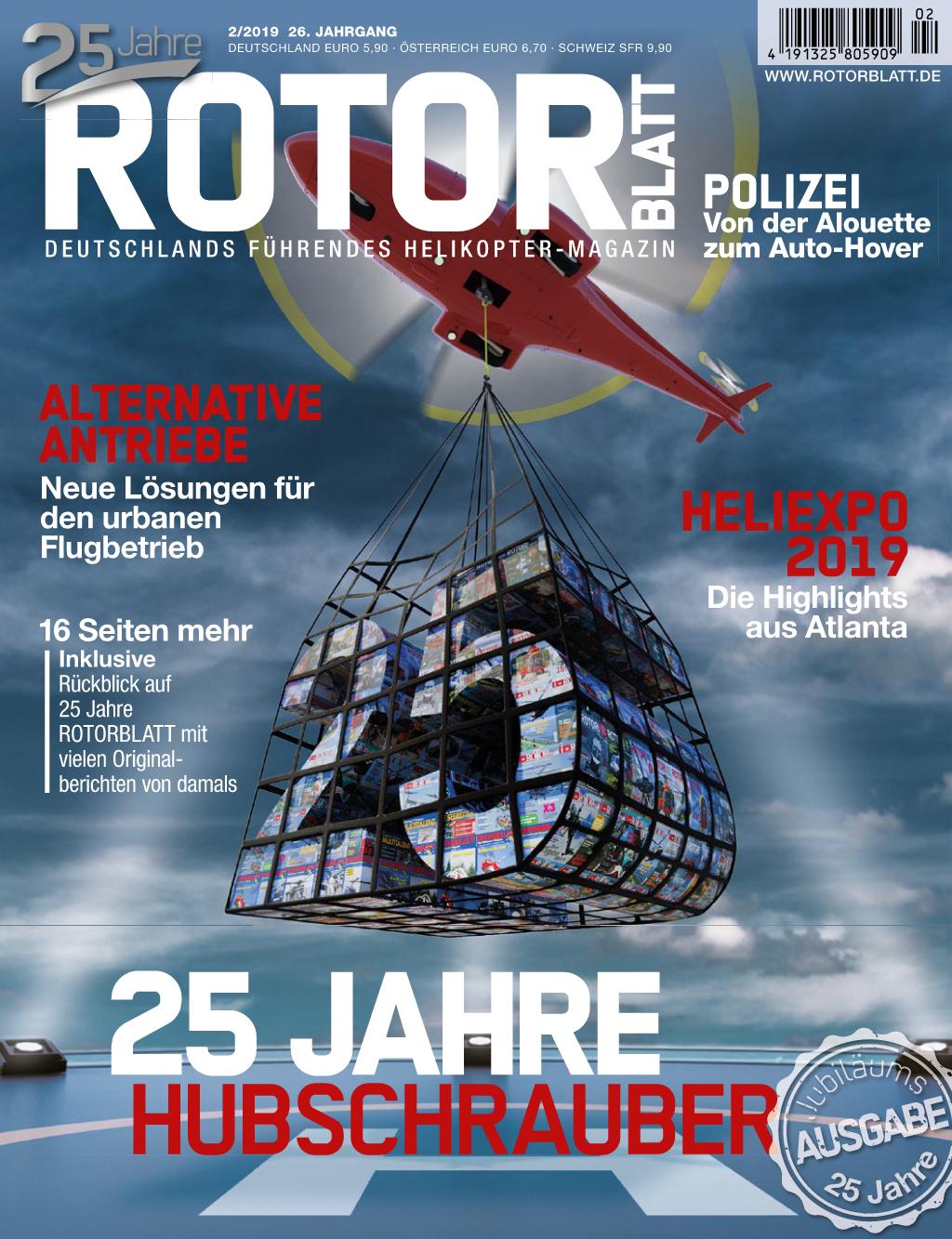 Rotorblatt Ausgabe 02-2019