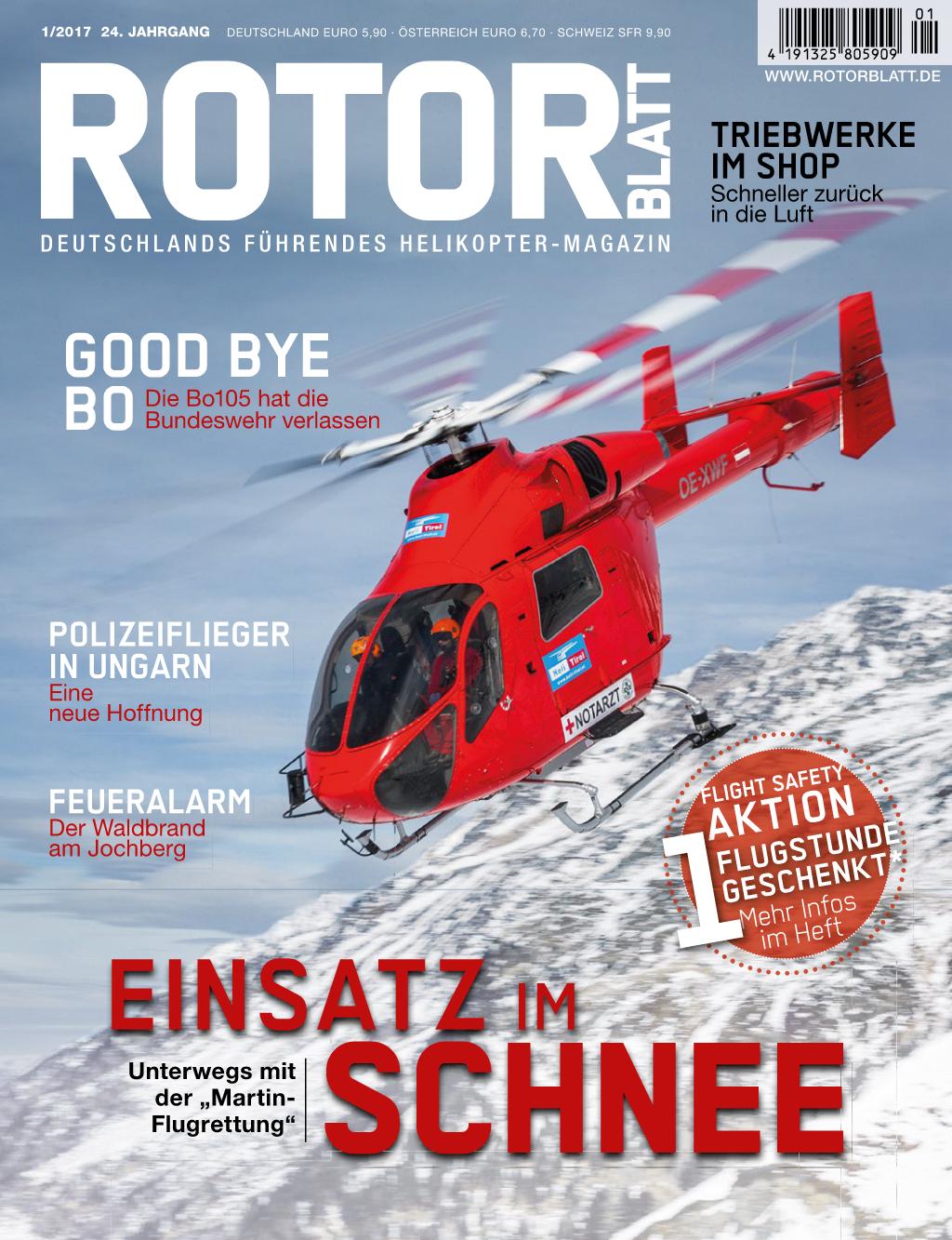 Rotorblatt Ausgabe 01-2017